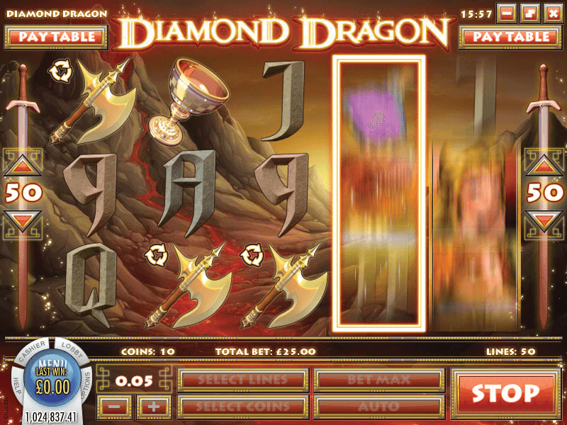 Diamond Dragon Hero Image Inner Center