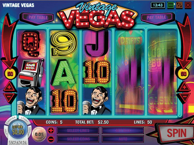 Vintage Vegas Hero Image Inner Center