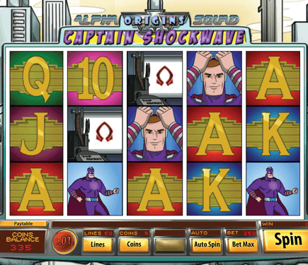 Alpha Squad Origins: Captain Shockwave Hero Image Inner Center