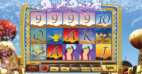 Aladdin's Loot Hero Image Inner Center